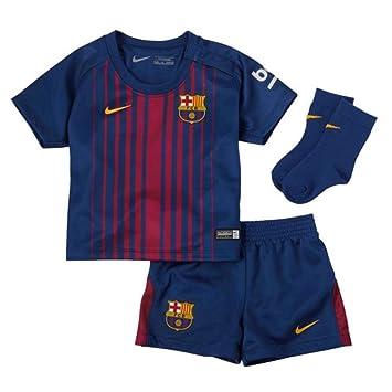 Nike FCB I NK BRT Kit HM - Equpación, Infantil, Azul - (Deep Royal Blue/University Gold): Amazon.es: Deportes y aire libre