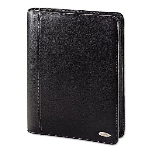 Samsonite Cosco Zip Bi-Fold Pad folio, 8 1/2 x 11, Black (Bi Fold Padfolio)