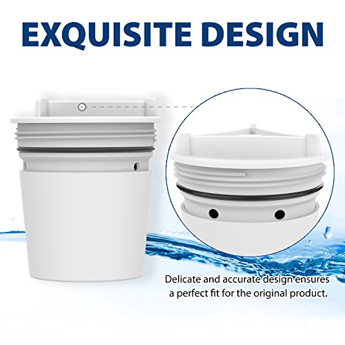AQUACREST Replacement Water Filter, with Culligan FM-15RA Culligan Filtration White