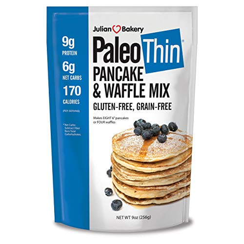 Paleo Pancake & Waffle Mix (Low Carb & Gluten Free) by Julian Bakery