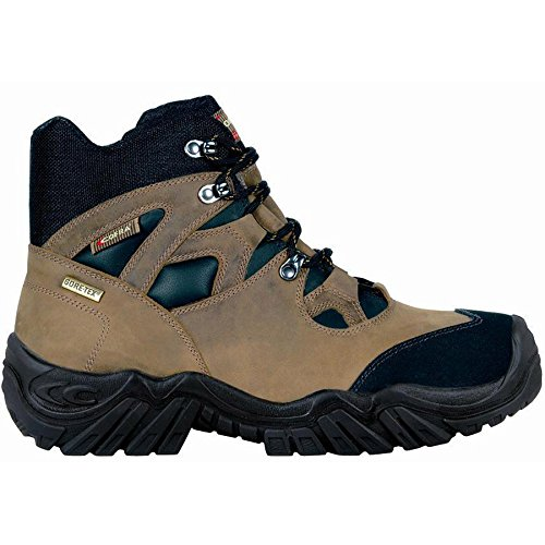 Cofra Jackson S3resistente al agua Gore-Tex de piel Para Hombre Botas de seguridad marrón marrón