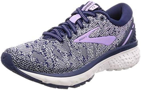 557555d94de Brooks Women s Ghost 11 Navy Grey Purple Rose Running Shoes-5 UK India (38  EU) (1202771B406)  Amazon.in  Shoes   Handbags