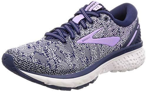 De Purple Navy Grey Brooks Ghost Mujer Zapatillas Running Para 11 Rose qt1xtTUw