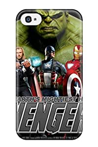 Muriel Alaa Malaih's Shop New Style 2235062K77311287 Tpu Case Skin Protector For Iphone 4/4s The Avengers 110 With Nice Appearance by ruishername