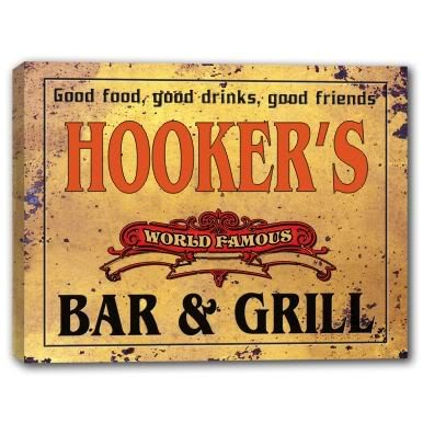 hookers-world-famous-bar-grill-canvas-sign