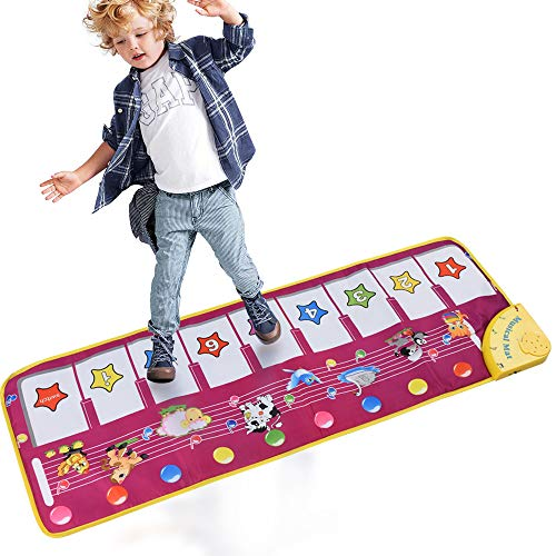 ALANGDUO Piano Musical Mats, Kids Children Touch
