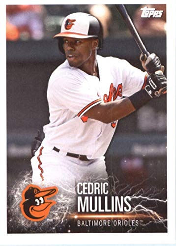 2019 Topps MLB Stickers Baseball #19 Cedric Mullins/Franccisco Lindor Baltimore Orioles/Cleveland Indians Trading Card Sized Album Sticker with Collectible Card Back Cleveland Indians Photo Album