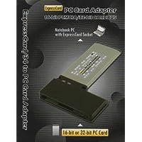 Digigear Tarjeta PCBCIA PCBCIA de 16 bits /32 bits a Adaptador /Lector /Grabadora ExpressCard de 34 mm