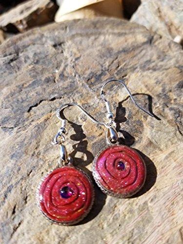 Ruby Swirl Ring (Ruby Swirl Earrings)