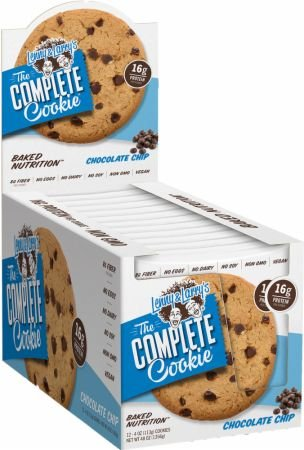 Lenny & Larry's The Complete Cookie - Chocolate Chip - 4 Oz - Case Of 12