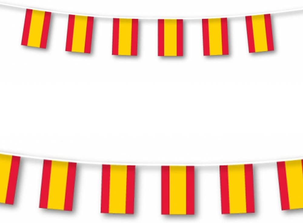 Amscan - Tira de Banderas de España (Grande, 7 m): Amazon.es: Hogar