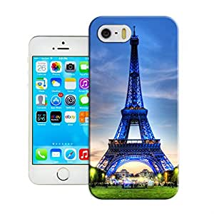 LarryToliver Designable Styles Of iphone 5/5s On Customizable Eiffel Tower Case Durable Cover