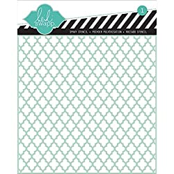 Heidi Swapp Lattice Stencil, 6 by 6-Inch (870)