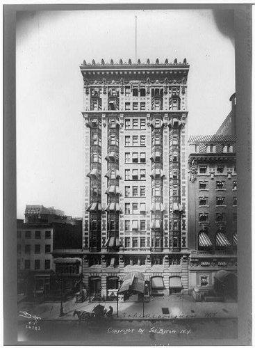 Photo: Algonquin Hotel,facades,exteriors,buildings,streets,New York,NY,J Byron,1907