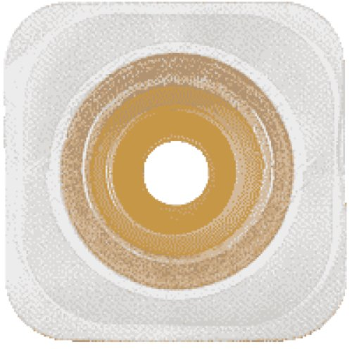 ConvaTec Esteem synergy Adhesive Coupling Technology Convex Moldable Durahesive Skin Barrier with Landing Zone Flange and Flexible Tape Collar 1-1/4