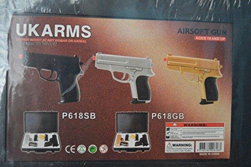 p.618 (2) air sport guns with black carrying case(Airsoft Gun)