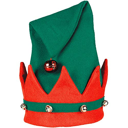 Elf Felt Hat with Bells | Christmas Gift Ideas and -