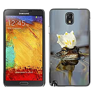 """For Samsung Note 3 N9000 , S-type cvetok Korona voda"""" - Arte & diseño plástico duro Fundas Cover Cubre Hard Case Cover"""