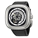 SEVENFRIDAY Men's Quartz Stainless Steel Casual Watch, Color:Black (Model: P1/1)