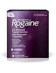 Women\'s Rogaine Treatment for Hair Loss & Hair Thinning Mino...