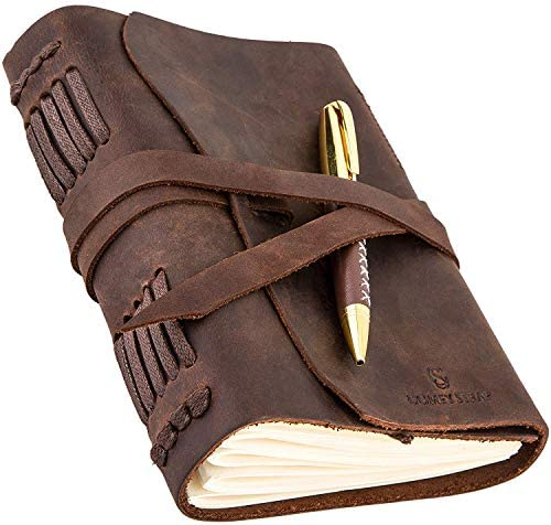 Leather Journal Mens Womens Personalized product image