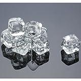 Image of Acrylic Ice Cubes Square Shape, 2-Pound Bag