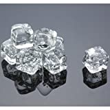 reusable ice cubes - Acrylic Ice Cubes Square Shape, 2-Pound Bag