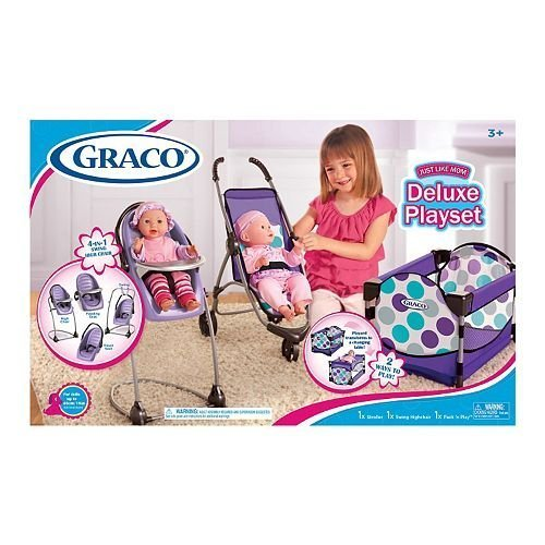Graco Just Like Mom Deluxe Playset ()