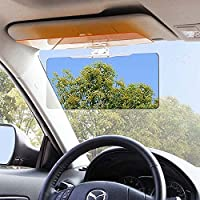 UXOXAS Anti-Glare Auto Car Sun Visor Day Night HD Vision Driving Mirror Shade Eyesight Protector