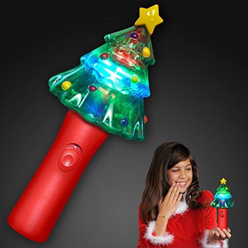 Light Up Christmas Tree Spinning LED - Christmas Light Tree Game