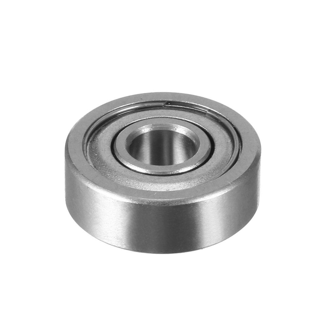 uxcell 20pcs 623ZZ 3mmx10mmx4mm Double Shielded Miniature Deep Groove Ball Bearing