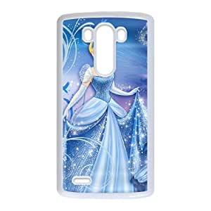 Cinderella LG G3 Cell Phone Case White present pp001_9569794