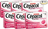 Cepacol Extra Strength, Fast and Effective Relief for Sore Throats, Sugar Free Cherry