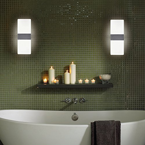Kernorv LED Wall Sconces Light Modern and Fashion Cool White Modern ...