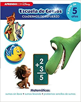 Cuadernos de refuerzo : Incluye pegatinas: Amazon.es: Disney, Adosaguas Sayalero SLU;: Libros