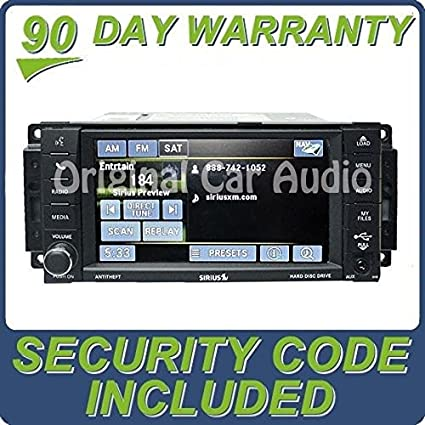 Amazoncom Chrysler Dodge Jeep MyGig Navigation Radio GPS DVD