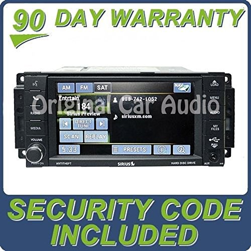 Chrysler Dodge Jeep MyGig Navigation Radio GPS DVD Sirius 30