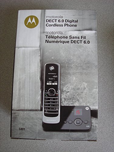 Motorola DECT 6.0 Digital Cordless Phone S801