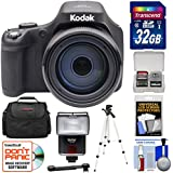 Kodak PIXPRO AZ901 90x Astro Zoom Digital Camera (Black) 32GB Card + Case + Flash + Tripod + Kit