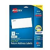 Best Avery peel - Avery Easy Peel Inkjet Return Address Labels, 2/3 Review