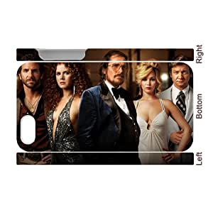 3D Print Hot Movie Series&American Hustle Background Case Cover for iPhone 4/4S - Personalized Hard Cell Phone Back Protective Case Shell-Perfect as gift