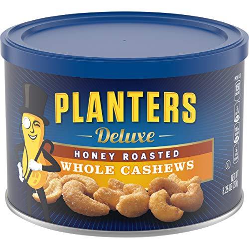 Planters Honey Roasted Whole Cashews (8.25 oz Canister)
