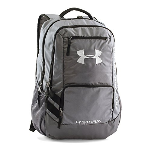 Under Armour Hustle 2.0 Backpack, Graphite (040)/Silver, One Size
