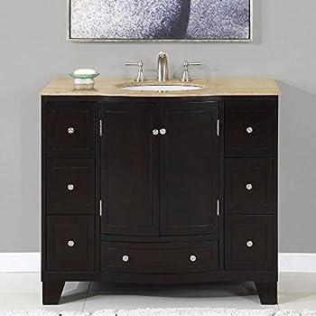 40 In Naomi Single Sink Bathroom Vanity In Expresso