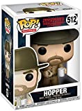 Funko Pop Television: Stranger Things-Hopper with Donut (Styles May Vary) Collectible Figure