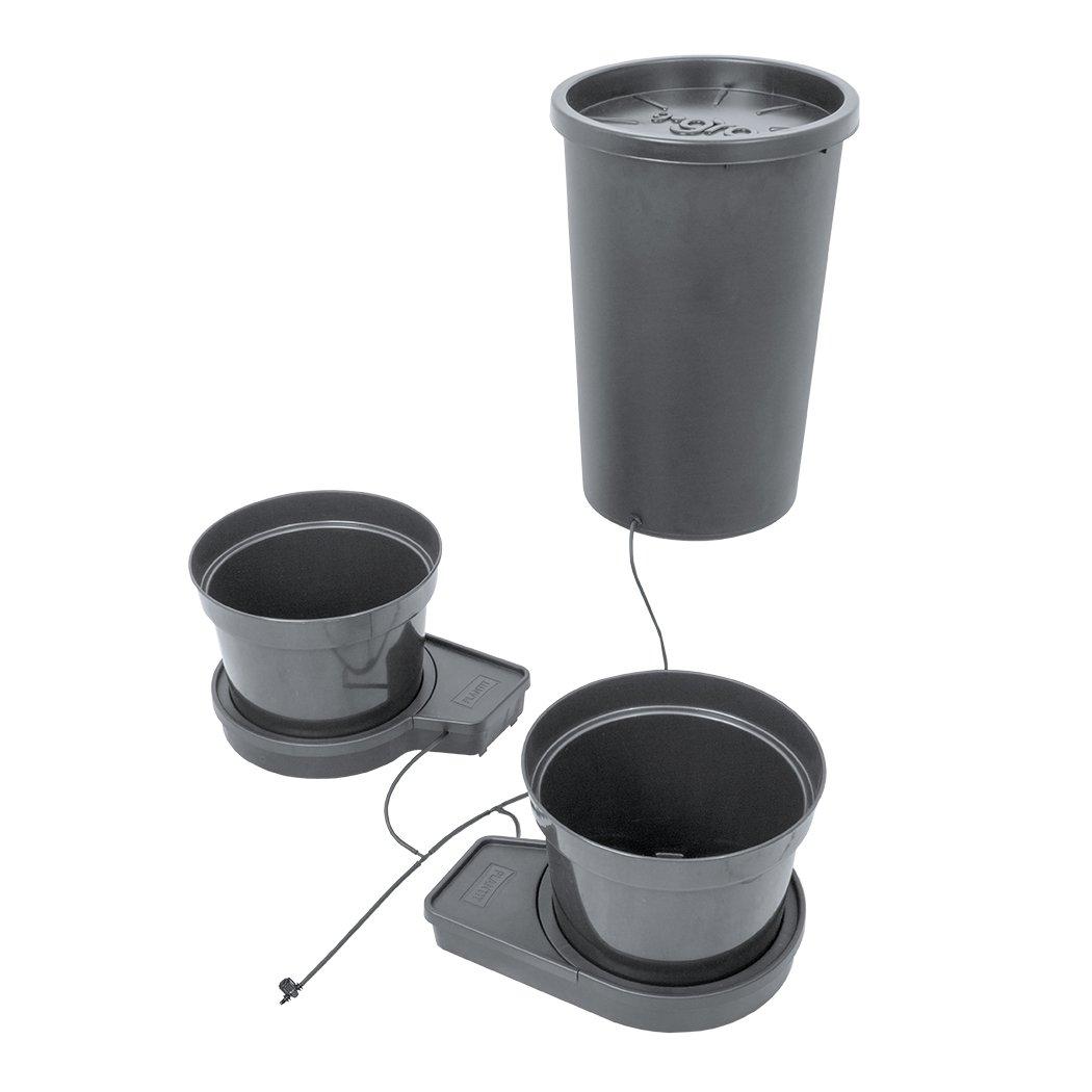 Sistema de riego automático de 2 plantas GoGro Essential - recipientes de 15 litros: Amazon.es: Jardín