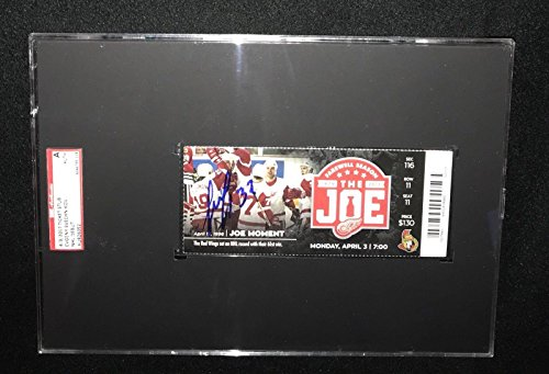 Evgeny Svechnikov Detroit Red Wings Signed Nhl Debut Ticket Sgc Slabbed Au826092 - Hockey Slabbed Autographed Rookie ()
