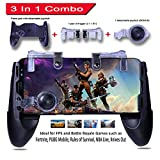 Mobile Game Controller – 3 in 1 Gaming Joystick, Stand, Trigger, Holder, Shooter for Fortnite/PUBG Mobile/Rules of Survival