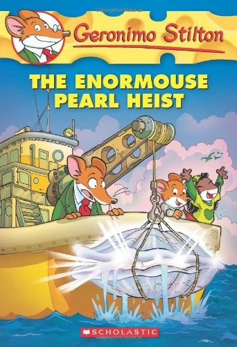 The Enormouse Pearl Heist by Geronimo Stilton No: 51