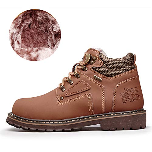 High High High Classic Uomo Lavoro Optional Optional Optional Durevole Color Sunny Outsole amp;Baby Top Dimensione Scarpe Convenzionale Cotton 39 Light Wark Warm Stivaletti Casual Round Brown EU da Top da UZXZ8a